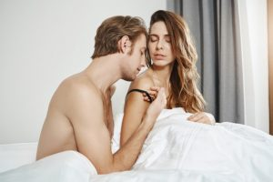 satisfy a woman in bed